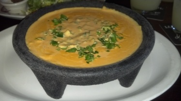 queso dip w/cilantro & jalapenos