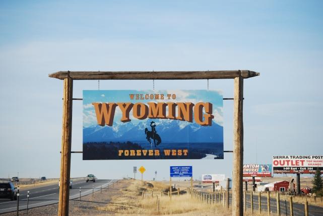 Colorado Wyoming border