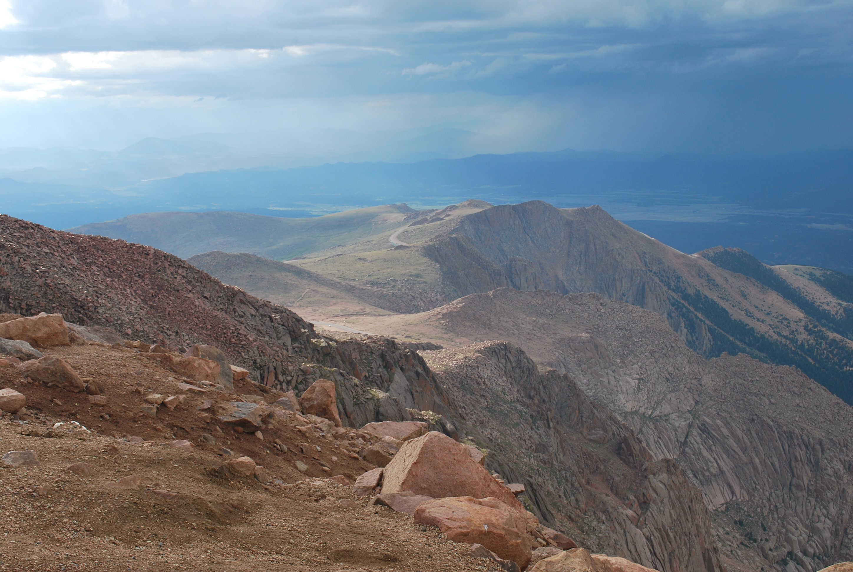 Pikes Peak Coffee >> The View at the Top of Pikes Peak | lovelivingincolorado